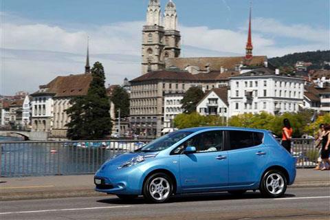 В Норвегии популярны электромобили