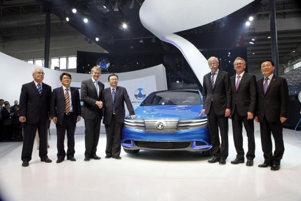 Немцы и китайцы объединились для создания электромобиля