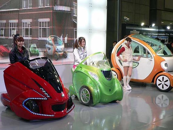 Новый Японский электромобиль приобрести сможет даже школьник