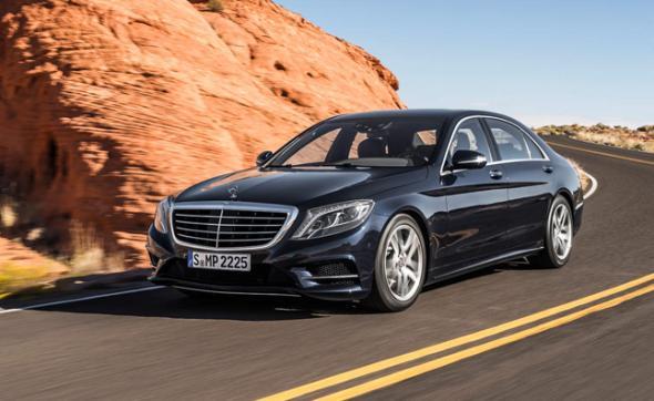 Merсedes-Benz укомплектовал в седан S-класса розетку
