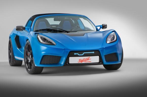 Detroit Electric представил полностью электрический роскошный спорткар SP:01