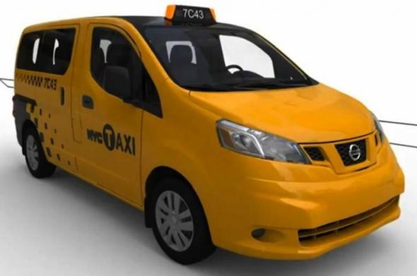 Новая модель электромобиля Nissan NV-2000