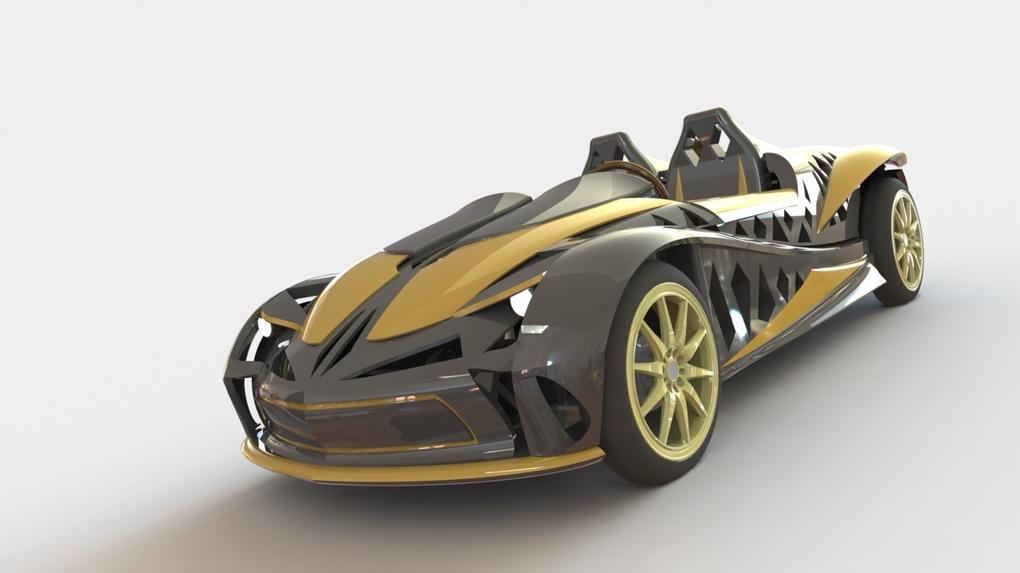 Электромобили напечатанные на 3D принтере.