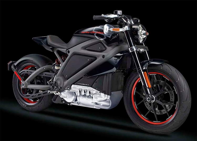 Первый электрический Harley-Davidson