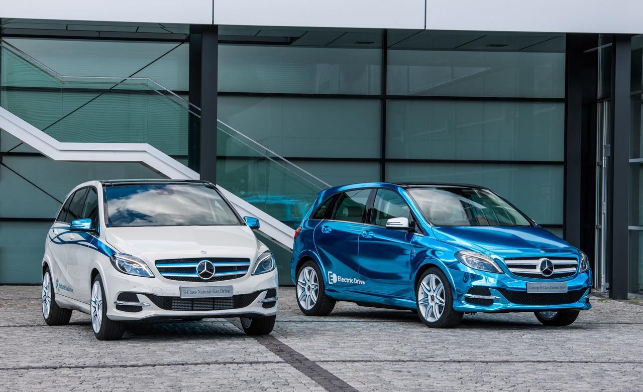 Mercedes-Benz. Обзор электроавтомобиля!