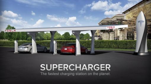 Компания Tesla Motors открыла еще 3 станции быстрой зарядки в Германии