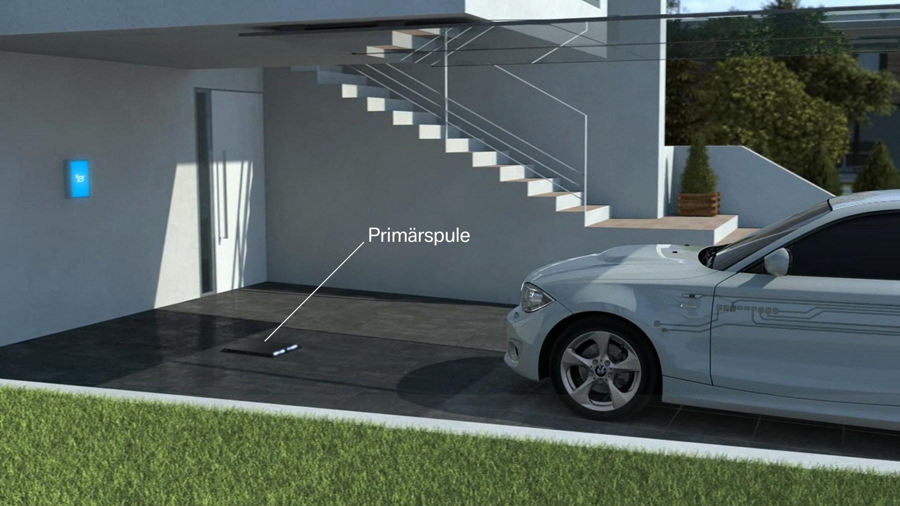 BMW и Daimler вместе работают над системой беспроводной зарядки