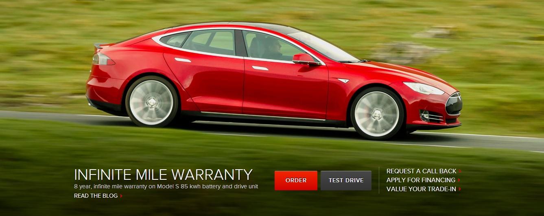 Tesla Motors улучшила гарантию