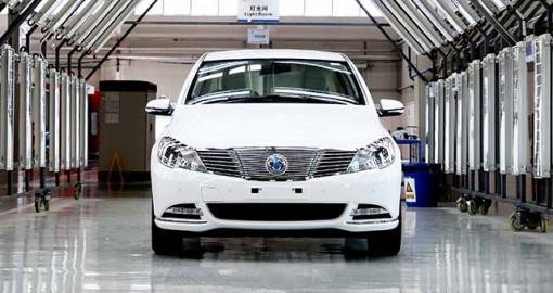 В Китае стартовало производство электромобиля Denza