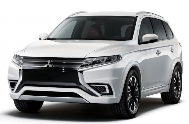 Mitsubishi показала Outlander PHEV Concept-S