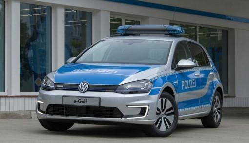 Электромобиль Volkswagen e-Golf поступит на службу в полицию Германии