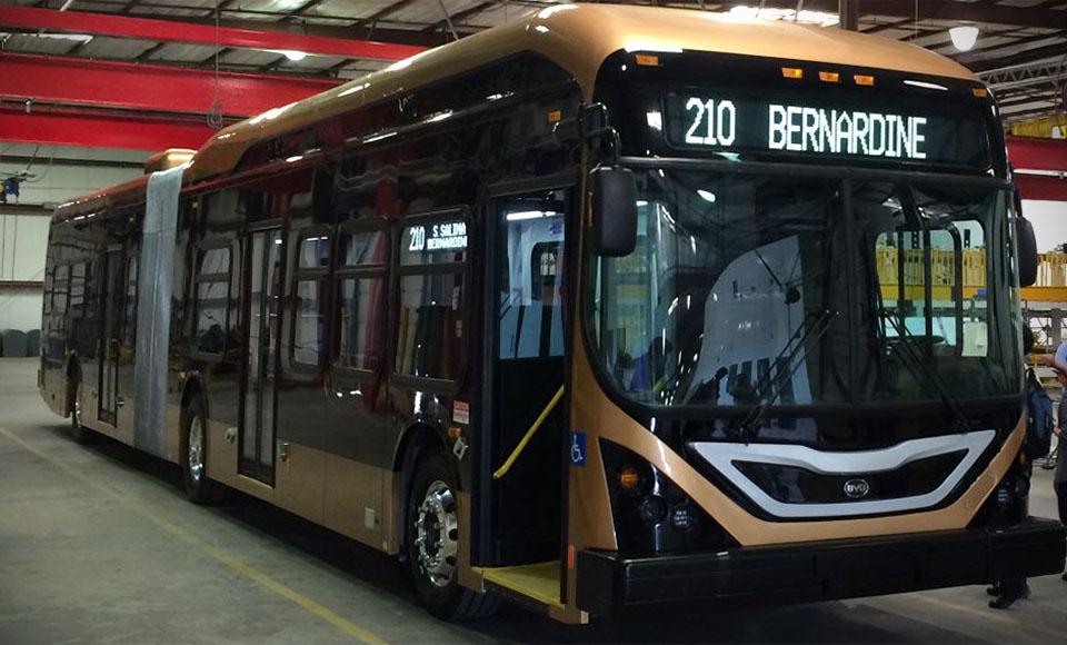 Автобус BYD стал самым большим электромобилем в мире