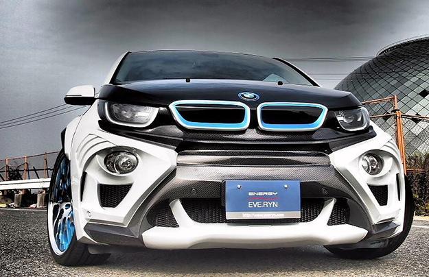 Японцы полностью переделали электрокар BMW i3