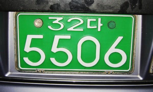 В Украине могут появиться зеленые номера