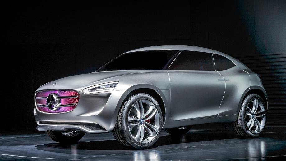 Mercedes G-Code подзаряжается с поверхности кузова