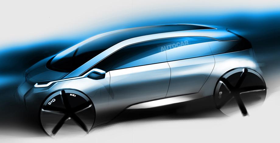 BMW i5 получит топливные элементы от Тойоты