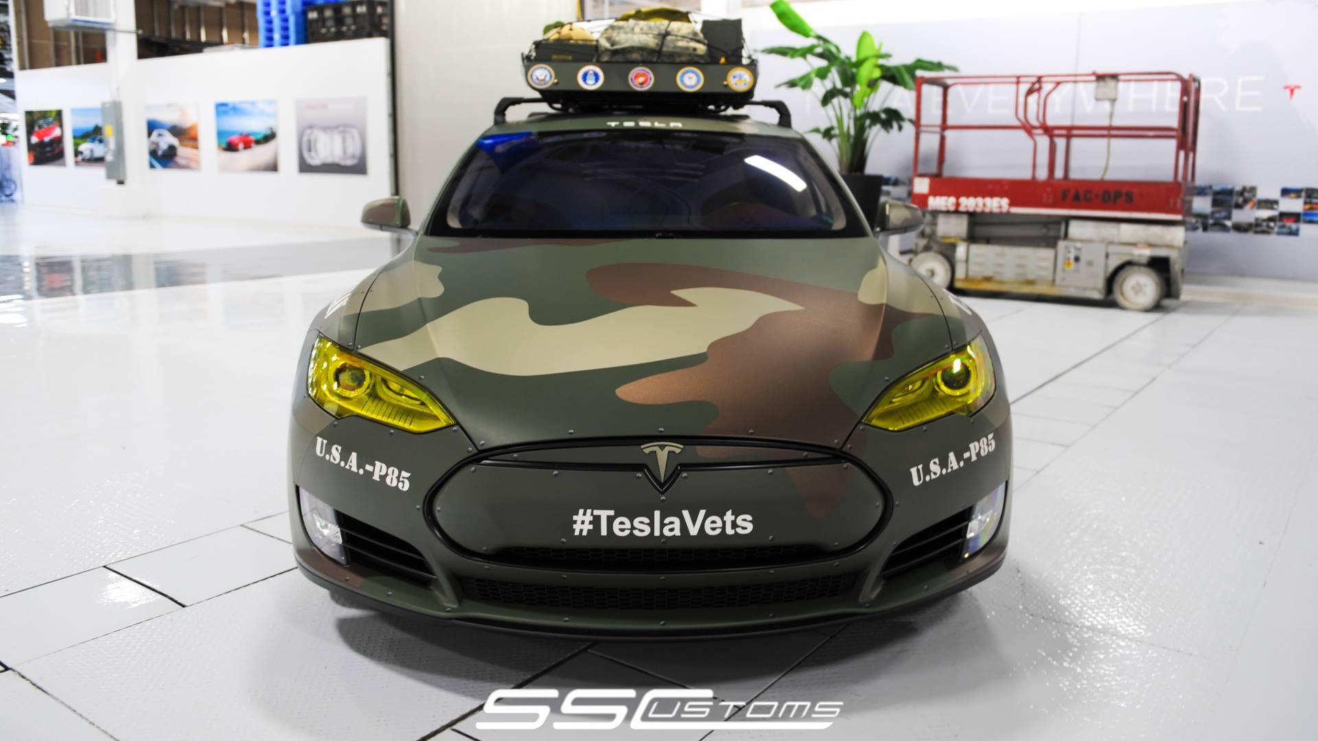 Tesla Model S Veteran