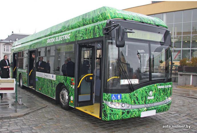 Электрический автобус с запасом хода в 200 км от Skoda