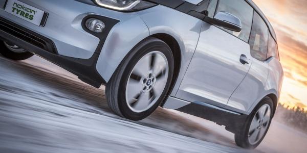 Nokian Tyres разработала шину для электрокара BMW i3
