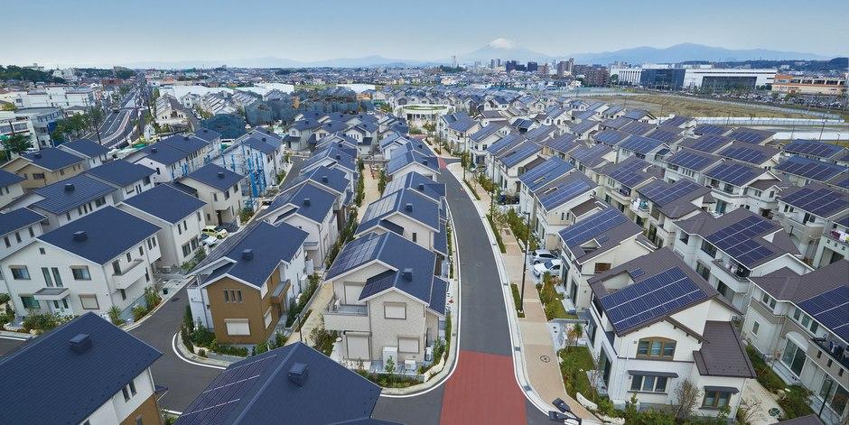 Японский город перешедший на электричество