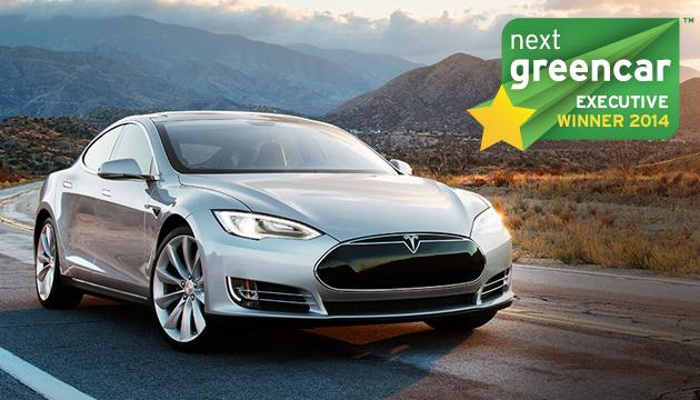 Tesla Model S получила награду Next Green Car 2014