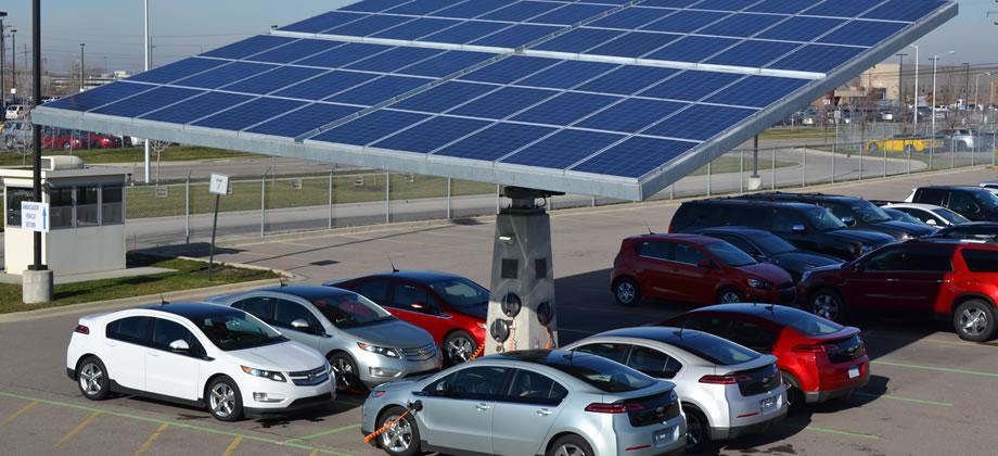6 великолепных зарядных станций для электромобилей