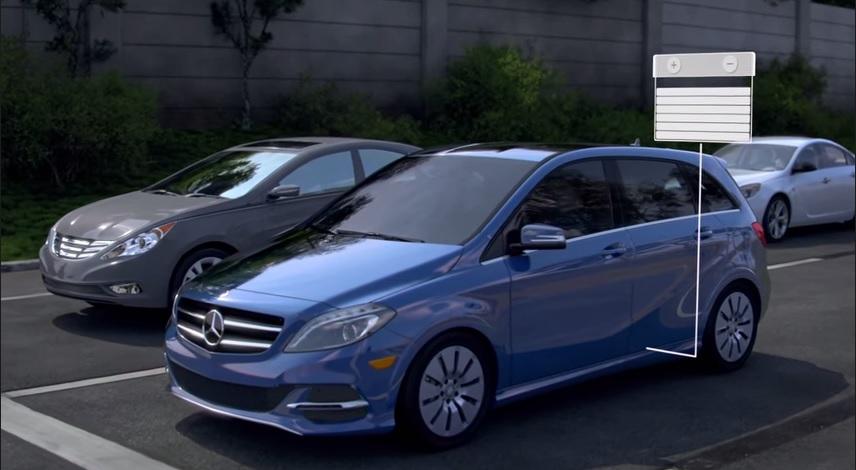 Рекуперация в Mercedes-Benz(видео)