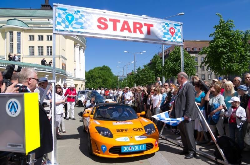 Легендарный Electric Marathon 2015 стартует из Киева