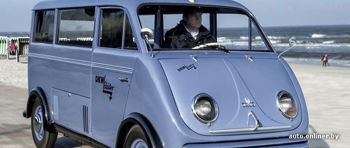 Audi восстановит электромобиль середины прошлого века