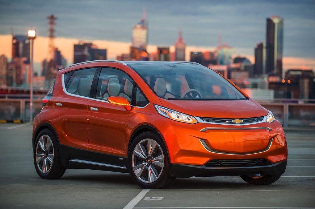 Chevrolet может обогнать Tesla Motors