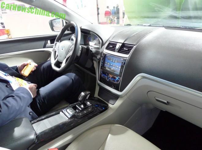 Электромобиль Emgrand EC7