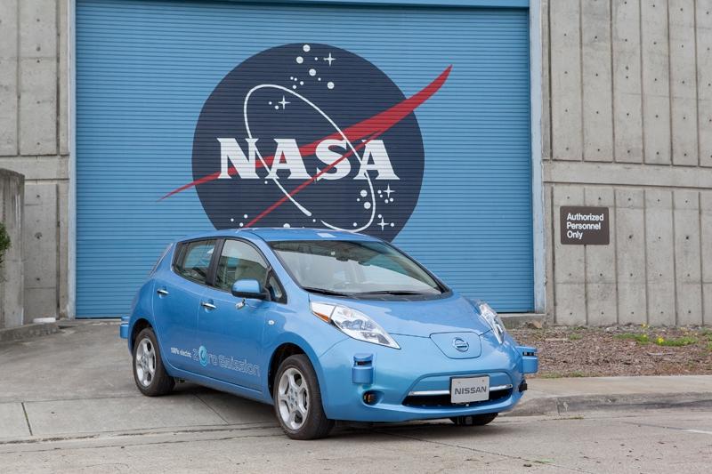 Nissan и NASA займутся разработкой систем для робомобилей