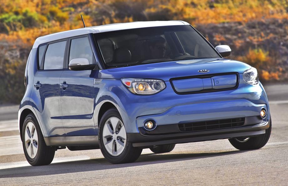 Электрический концепт Kia e-AWD подпоёт хэтчу Soul EV