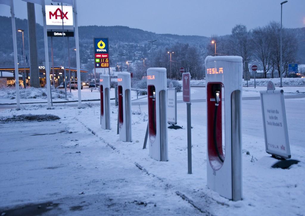 Парковка для электромобилей в Киеве станет бесплатной
