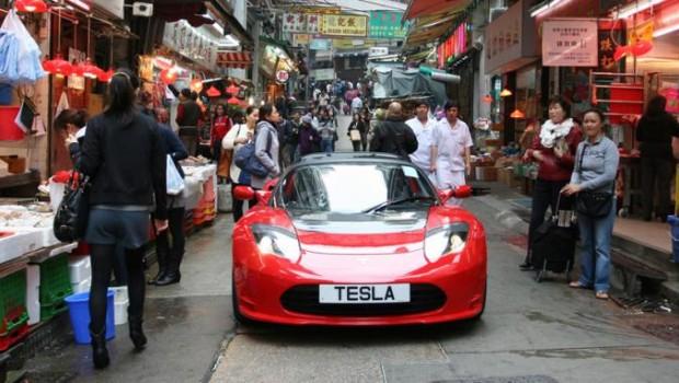 На дорогах Китая появятся пять миллионов электромобилей