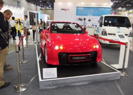 Новый корейский электромобиль