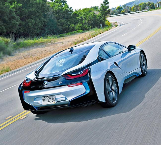 Супертест: BMW i8