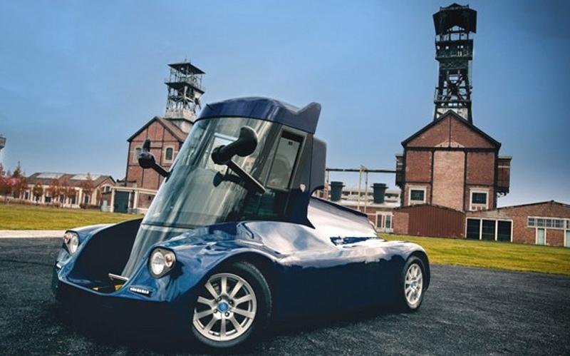 Iris —  необычный электромобиль