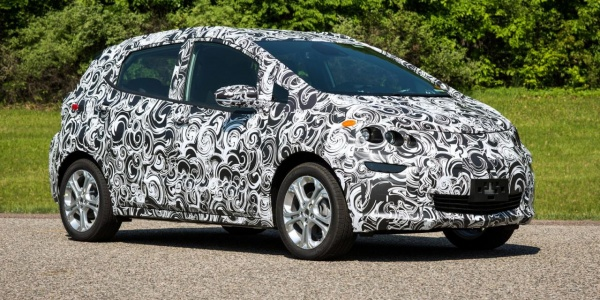 Бюджетный электромобиль от Chevrolet