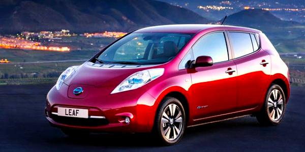 Новый вид электрокара Nissan Leaf