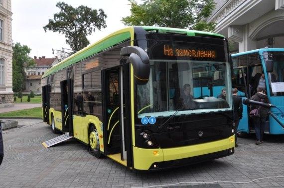 Электробусы во Львове