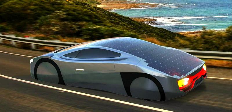 В Австралии создан спорткар на солнечных батарейках