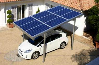 Украинцы смогут заряжать электромобили с помощью солнца