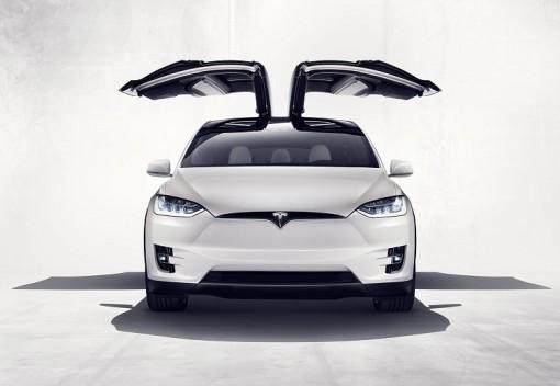 Официальный показ модели Тесла Model X
