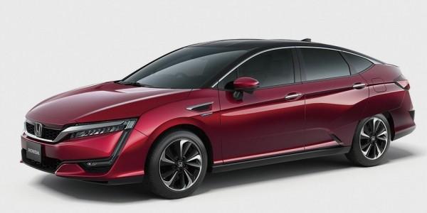 Дизайн новой водородной модели от компании Honda