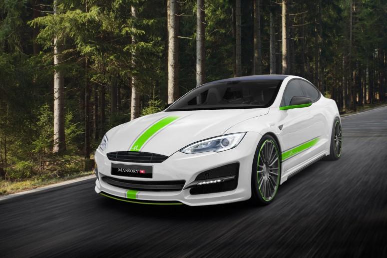 Новый тюнинг для  электрокара Tesla Model S