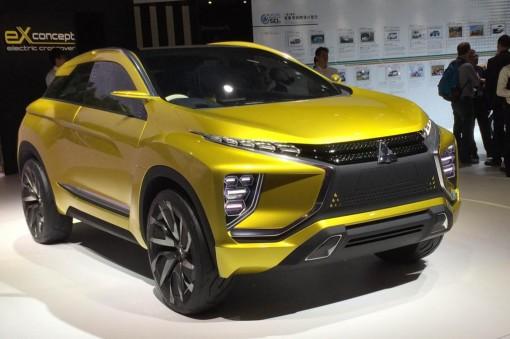 Премьера электромобиля Mitsubishi eX
