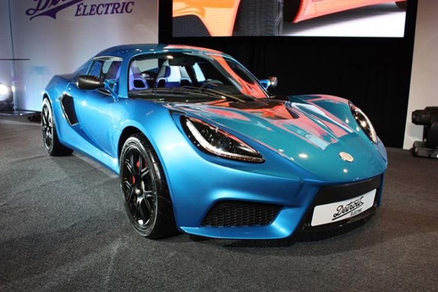 Detroit Electric тоже не сидит на месте, поздравим компанию с первым спорткаром