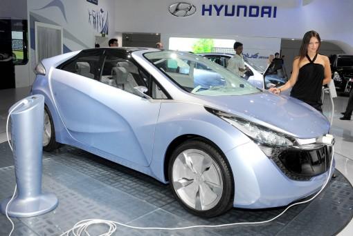 В следующем году будет представлен электромобиль от Hyundai