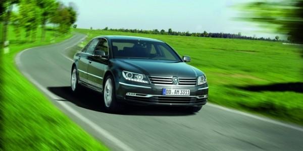 Volkswagen Phaeton превратится в электрический автомобиль